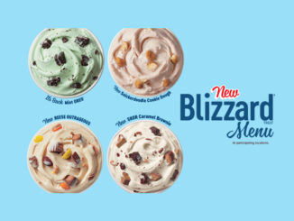 Dairy Queen Canada Introduces New Snickerdoodle Cookie Dough Blizzard