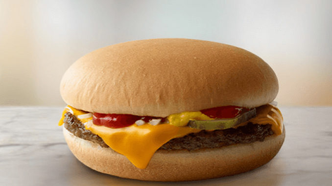 60a69120704ffe Here's How To Score A Free Cheeseburger At McDonald's Canada On September  18, 2018