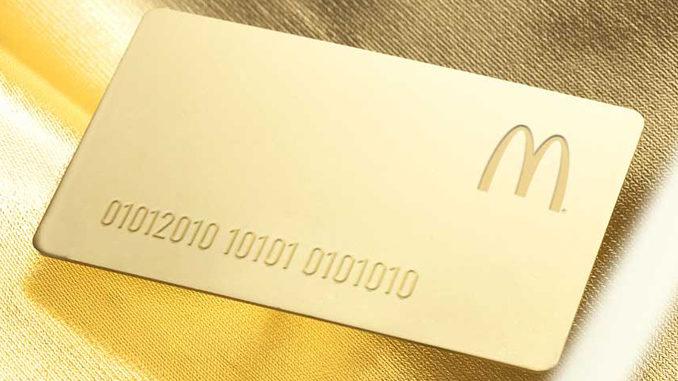 McDonald's Canada Introduces New Big Mac Gold Card Contest