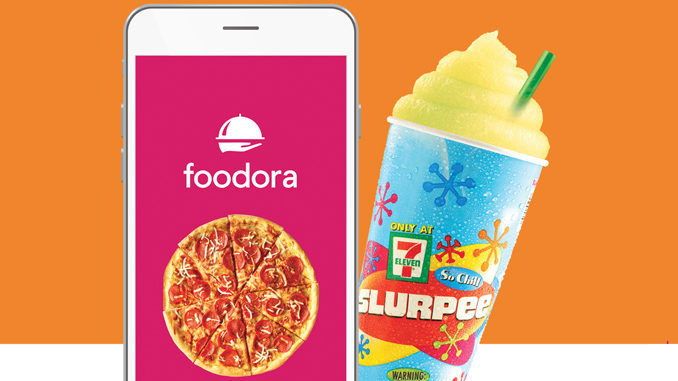 7-Eleven Canada Partners With Foodora For Delivery Service