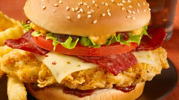 Church's Chicken Canada Introduces New Buffalo Jack Burger