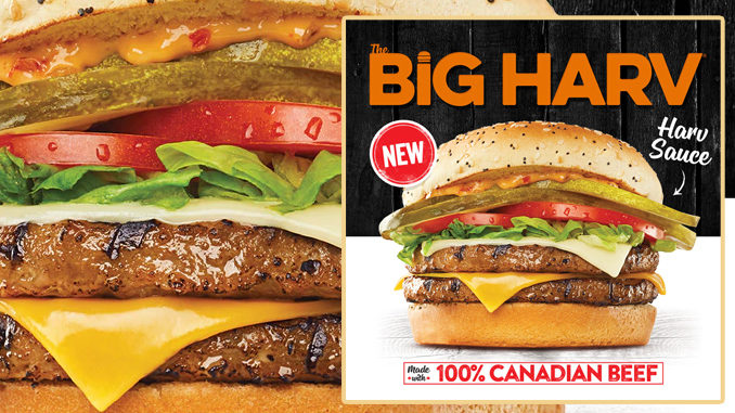 Harvey's Introduces New Big Harv Burger