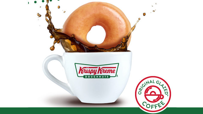 Krispy Kreme Canada Introduces New Original Glazed Coffee