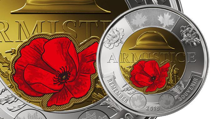 Mint Unveils New First World War $2 'Armistice' Coin