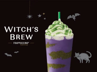 Starbucks Canada Pours New Witch's Brew Frappuccino