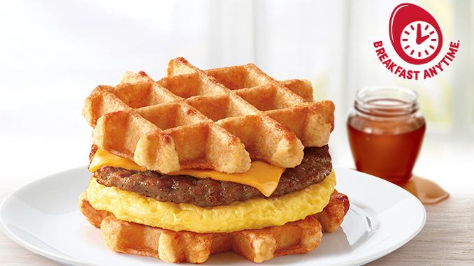 Tim Hortons Launches New Belgian Waffle Breakfast Sandwich, New Fall Baked Goods
