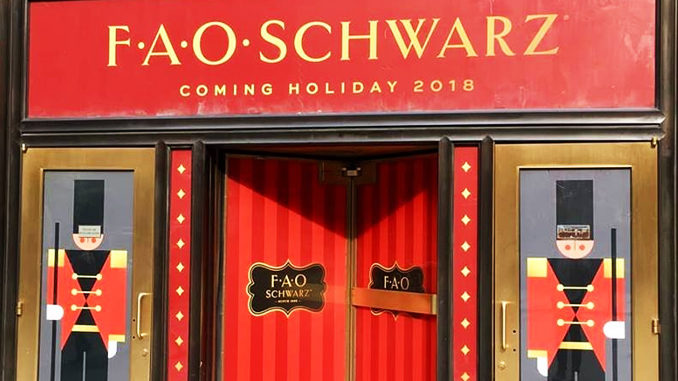 Toy Store FAO Schwarz Is Coming To Canada For The 2018 Holiday Season