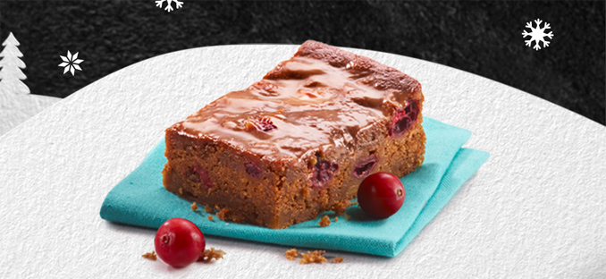Caramel Cranberry Bar