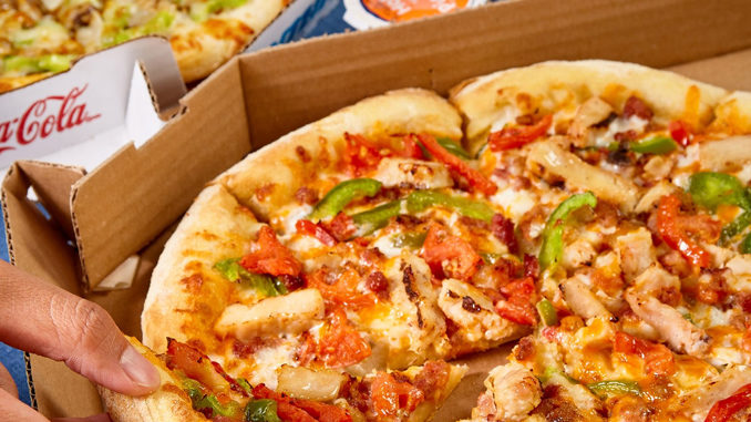 Domino's Canada Offers 50% Off All Pizzas At Menu Price Ordered Online Through December 2, 2018