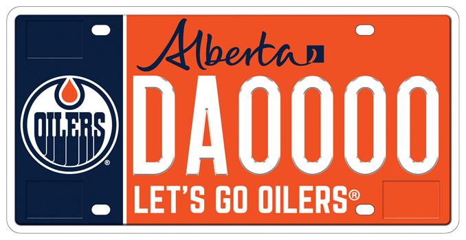 Edmonton Oilers Plate