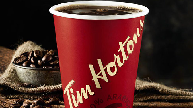 Free Hot Beverage For Veterans At Tim Hortons On November 11, 2018
