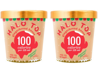 Halo Top Gingerbread House Ice Cream Now Available In Canada
