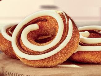 Krispy Kreme Canada Introduces New Cinnamon Swirl Doughnut