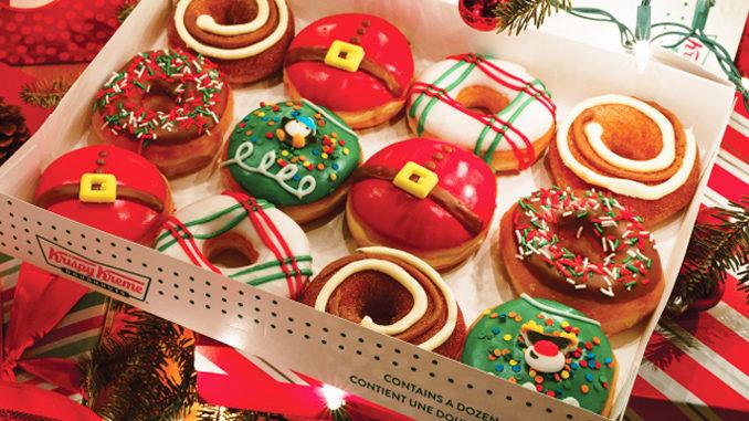 Krispy Kreme Canada Reveals 2018 Holiday Treats Lineup
