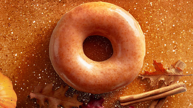 Krispy Kreme Canada Welcomes Back The Pumpkin Spice Original Glazed Doughnut