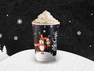 Peppermint Mocha And New Caramel Cranberry Bar Arrive At McDonald's Canada For 2018 Holiday Season