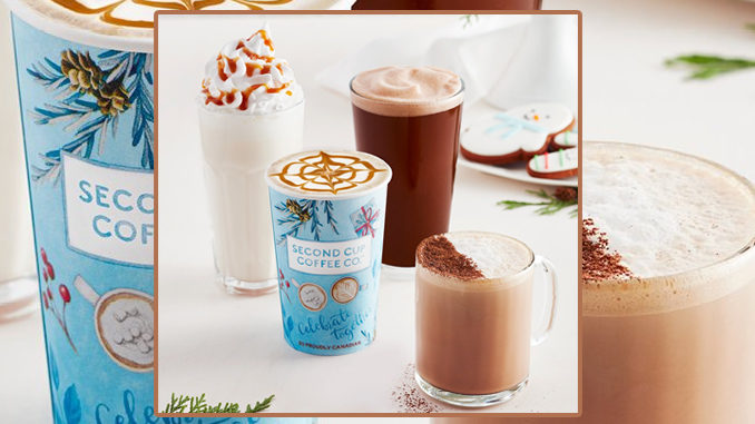 Second Cup Unveils New 2018 Holiday Beverage Lineup
