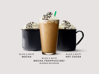 Black And White Mocha Beverages Return To Starbucks Canada For A Limited Time