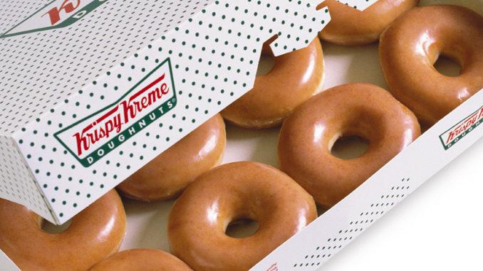 Get 1 Dozen Original Glazed Doughnuts For $1 When You Buy A Dozen At Krispy Kreme Canada On December 12, 2018