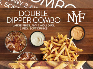 New York Fries Serves Up New Vegetarian Combo For 2