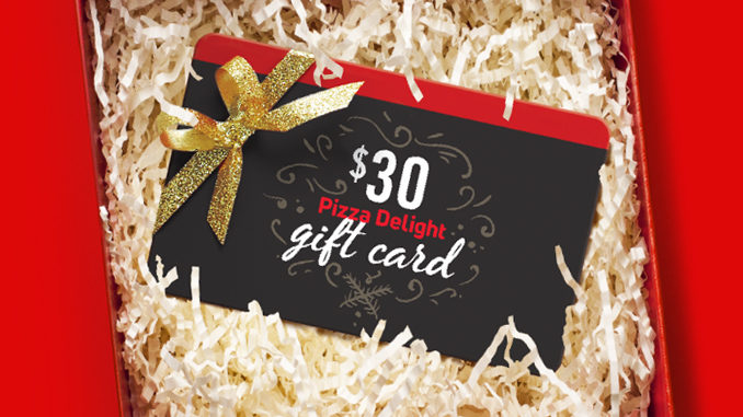 Pizza Delight Offers A Free Pizza With Gift Card Purchase