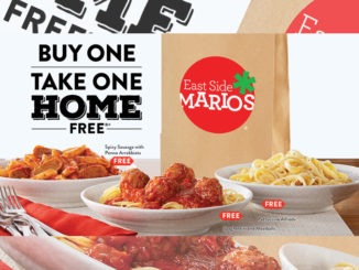 Buy One Entree, Take One Home Free At East Side Mario's Through January 20, 2019