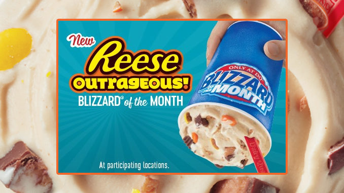 Dairy Queen Canada Introduces New Reese Outrageous Blizzard