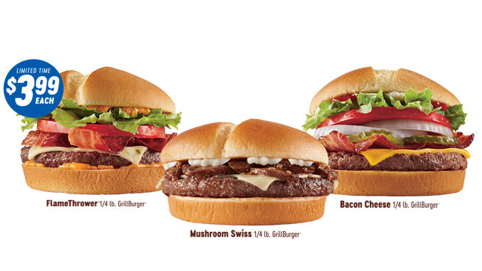 Dairy Queen Canada Offers Quarter-Pound GrillBurgers For $3.99 Each