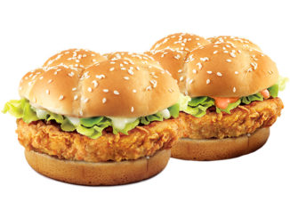 KFC Canada Offers Big Crunch Sandwiches For $2 On January 31, 2019