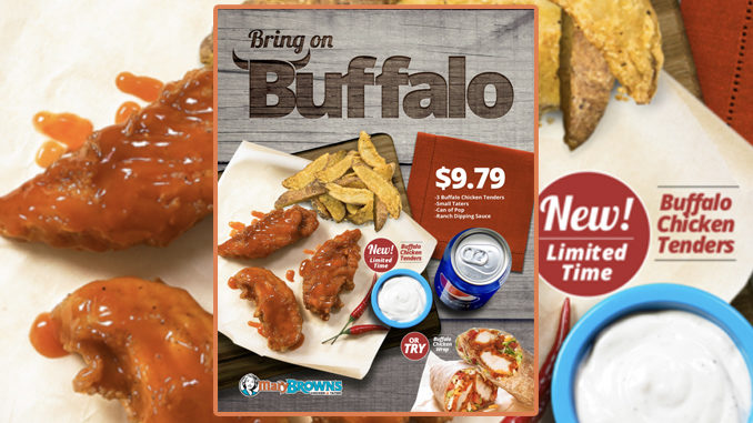 Mary Brown's Adds New Buffalo Chicken Tenders Combo Deal