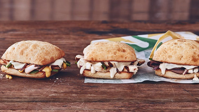 Subway Canada Introduces New $4 Mighty Melts