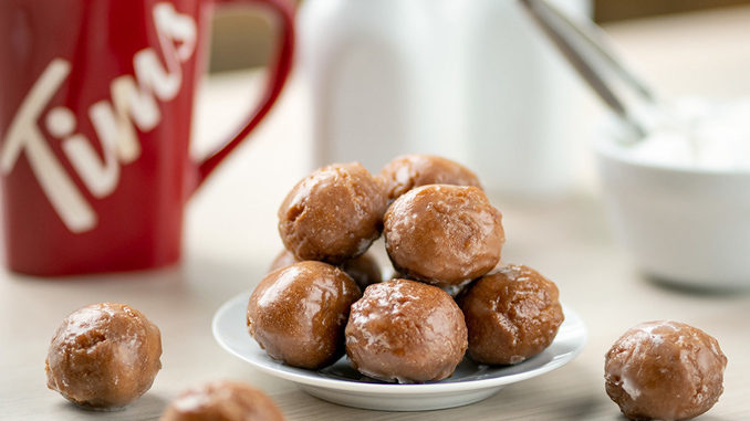 Tim Hortons Introduces New Double Double Timbits As Part Of New Coffee Flavoured Baked Goods Menu