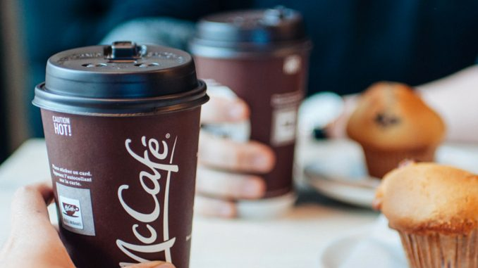 $1 Any Size Coffee At McDonald's Canada Through March 3, 2019