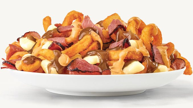 Arby's Canada Introduces New Montreal Smoked Meat Poutine