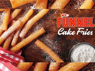 Burger King Canada Launches New Funnel Cake Fries