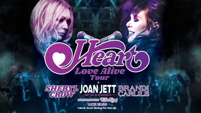Heart Announces Two Canadian Dates As Part Of 'Love Alive' Summer Tour