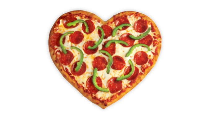 Heart-Shaped Pizzas Are Back At Pizza Pizza