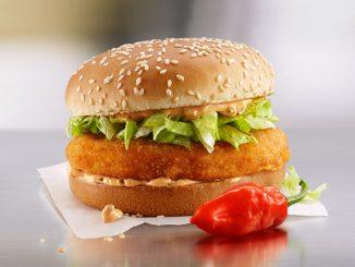 McDonald's Canada Adds New Spicier Habanero McChicken Sandwich