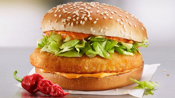 McDonald's Canada Adds New Spiciest Ghost Pepper McChicken Sandwich