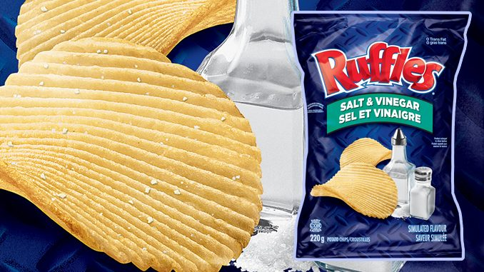 Ruffles Salt & Vinegar Chips Are Back For Good
