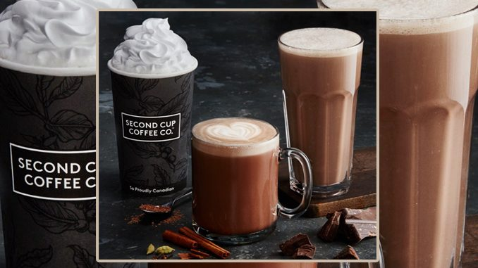 Second Cup Introduces New Chocolate Chai