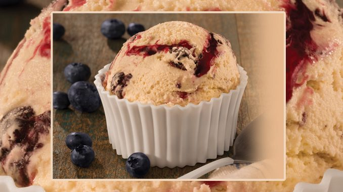 Baskin-Robbins Canada Introduces New Blueberry Muffin Ice Cream
