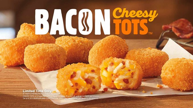 Burger King Canada Introduces New Bacon Cheesy Tots