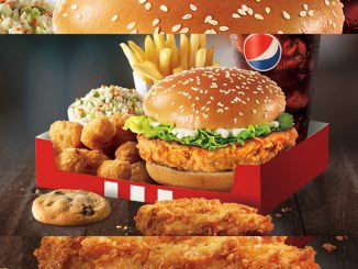 KFC Canada Offers New Trilogy Box Meal