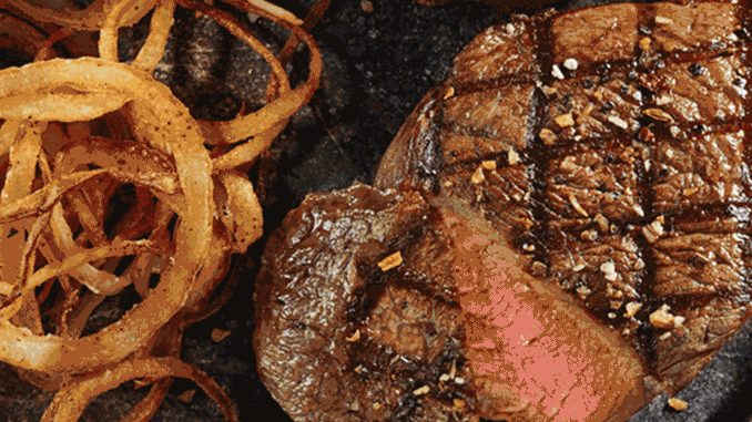 Montana's Puts On 100% Canadian Steak Event