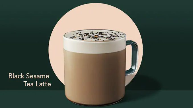 Starbucks Canada Introduces New Black Sesame Tea Latte