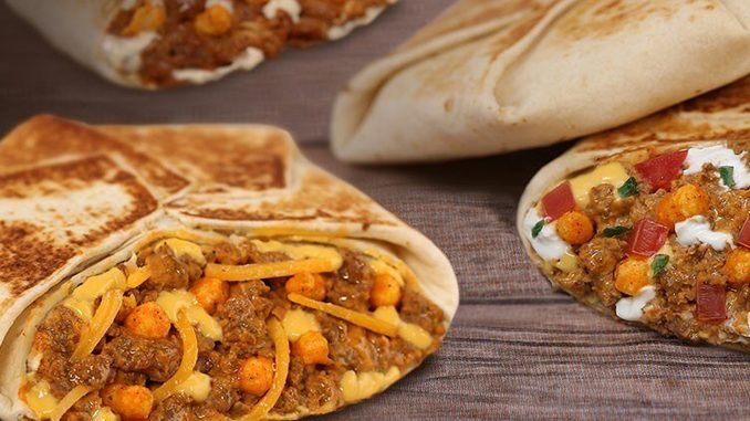 Taco Bell Canada Brings Back Cheetos Crunchwrap Slider In Three Flavors