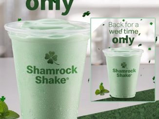 The Shamrock Shake Is Back At McDonald's Canada Until March 18, 2019