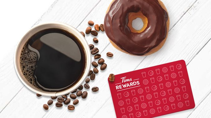 Tim Hortons Introduces New Tims Rewards Program