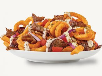 Arby's Canada Welcomes Back Greek Loaded Curly Fries